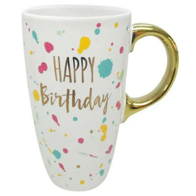 Happy Birthday Color Splash Mug