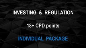 FIA special -  INVESTING & REGULATION (INDIVIDUAL PACKAGE ) - Earn 18+ CPD hours (Once-off cost).
