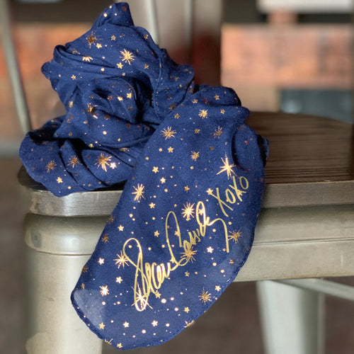 Magic of a Midnight Sky Scarf