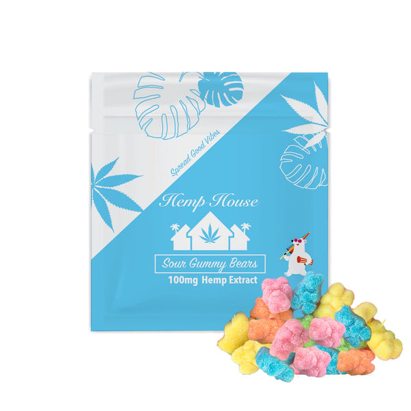 100mg Sour Gummy Bears