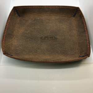 LODGE Rectangular Leather Valet