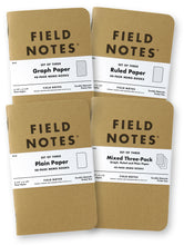 Load image into Gallery viewer, FIELD NOTES Kraft Notebook 3.5in x 5.5in