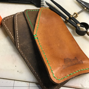 Eyeglass Leather Pouch
