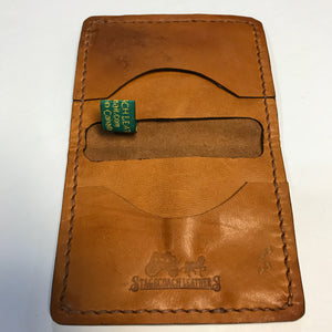 Billings Wallet. 2 card Horizontal