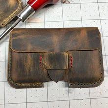 Load image into Gallery viewer, Leather Business Card Holder