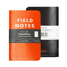 Load image into Gallery viewer, Field Notes EXPEDITION Memo Book. 3pk