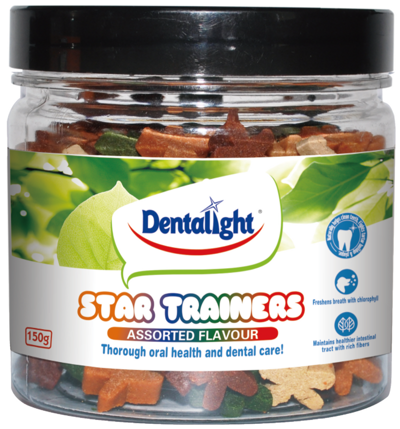 Star Trainer Assorted Dental Treats 150g
