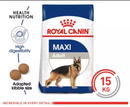 Royal Canin Maxi Adult 15kg Dry Dog Food