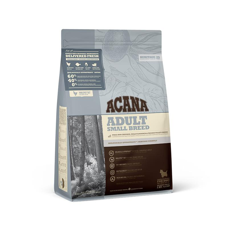 ACANA Heritage Adult Small Breed Dry Dog Food - Animall Philippines