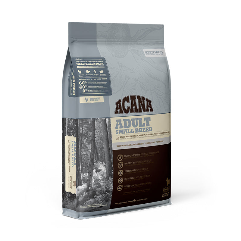 ACANA Heritage Adult Small Breed Dry Dog Food