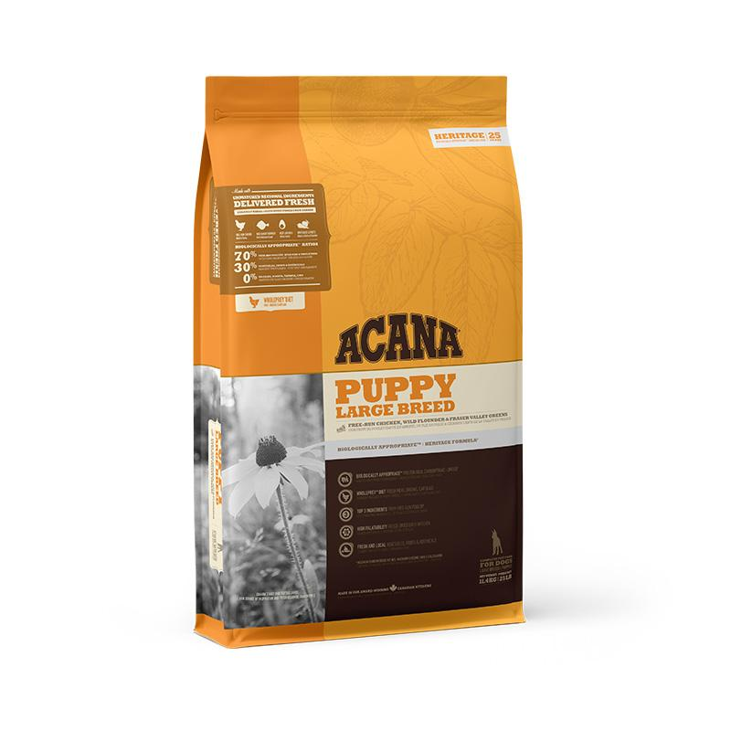 ACANA Heritage Puppy Large Breed Dry Dog Food - Animall Philippines