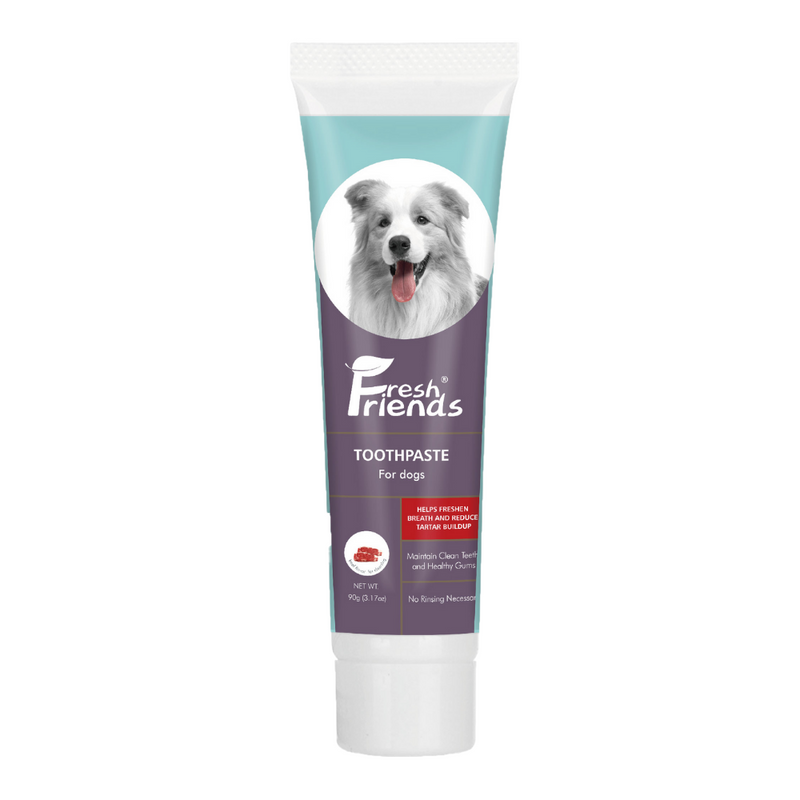 Fresh Friends Dog Toothpaste Beef Flavor 90g - Animall Philippines