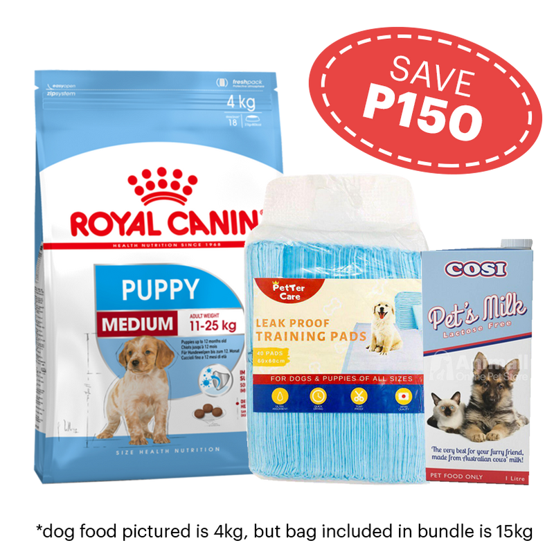 Medium/Large Puppy Combo Pack