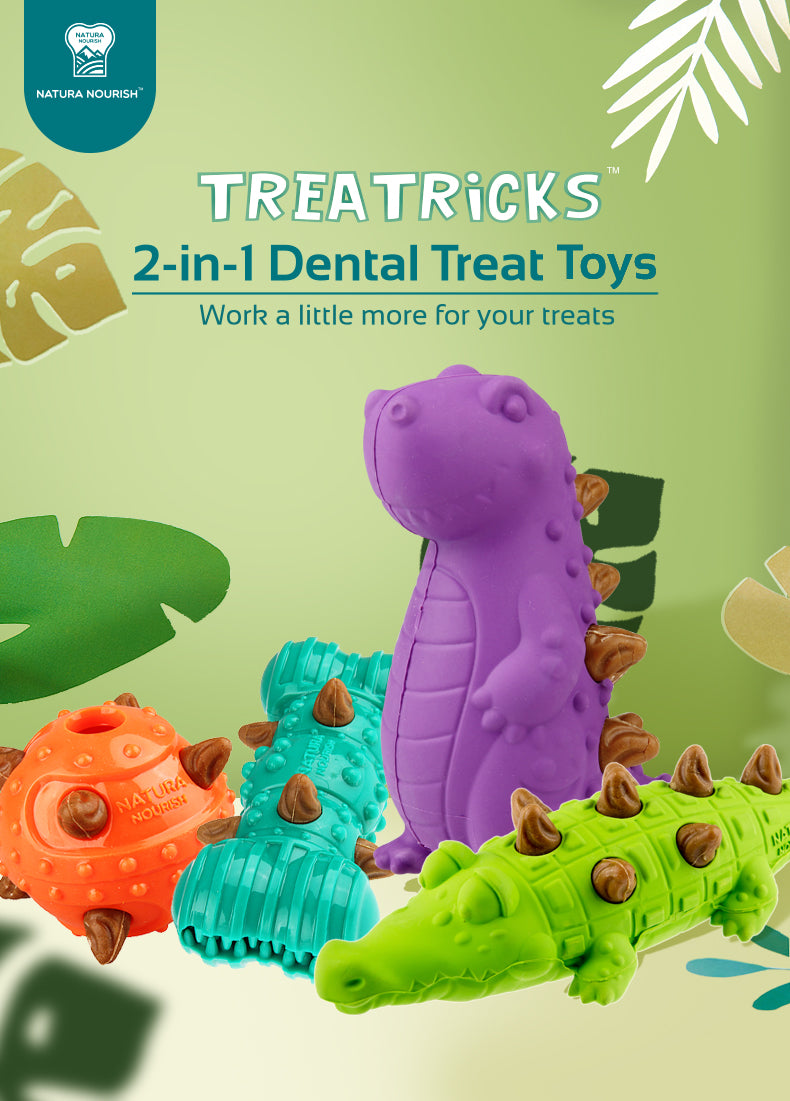 Natura Nourish Treatricks T-Rex Toy
