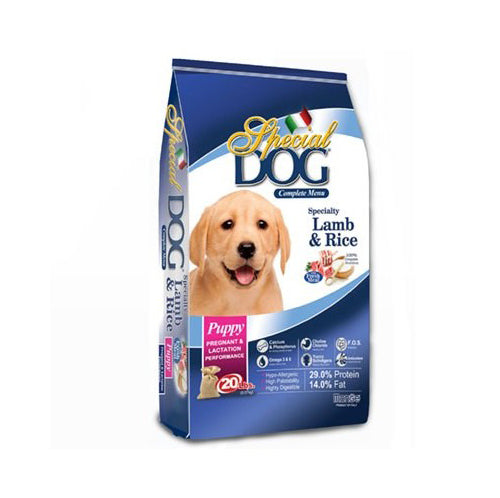 Special Dog Puppy Lamb & Rice Dry Dog Food