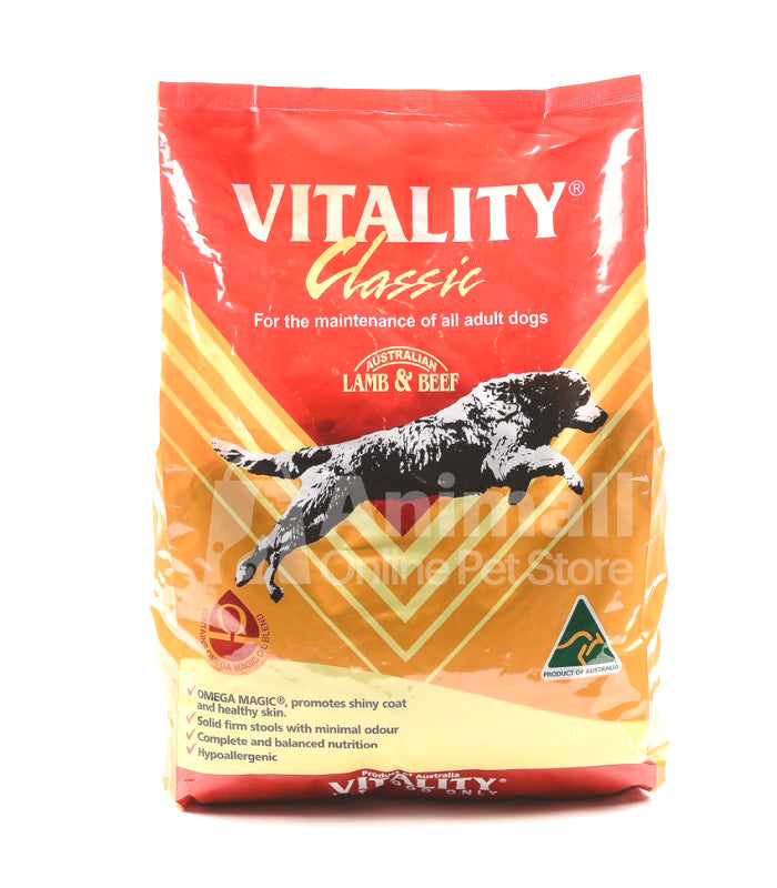 Vitality Classic Lamb & Beef Dry Dog Food