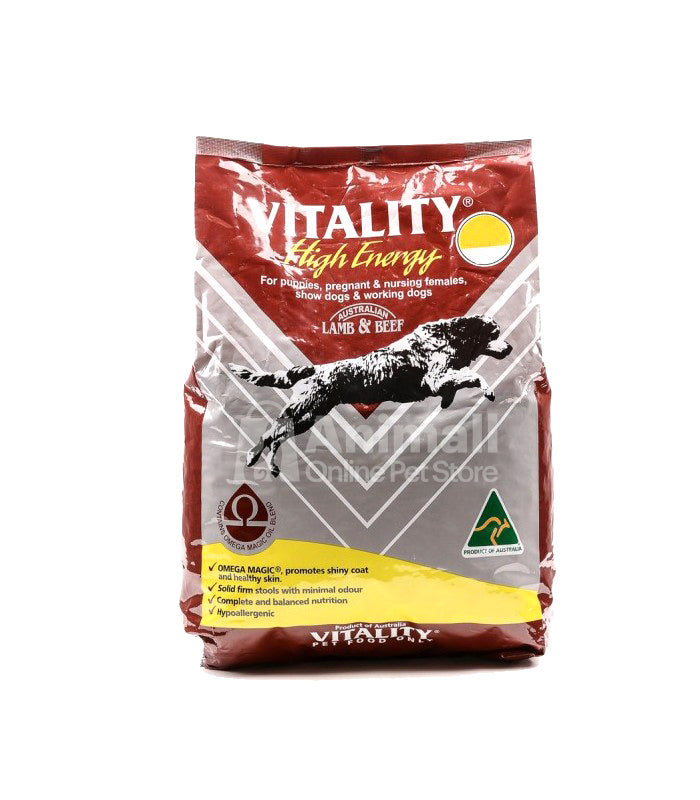 Vitality High Energy Puppy Dry Dog Food