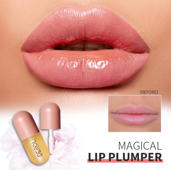 DEROL™ Plant Extracts Plumping Lip Serum.