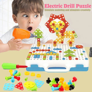 Rumpsun™ Electric Drill Puzzle-Luxurious Set