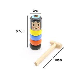 Rompsun™ Unbreakable wooden Man Magic Toy