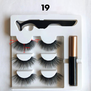 Rompsun™ Magnetic Eyelashes and Eyeliner Set