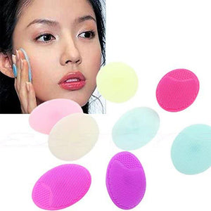 Rompsun™ Silicone Beauty Washing Facial Face Soft Deep Cleaning Face Brushes