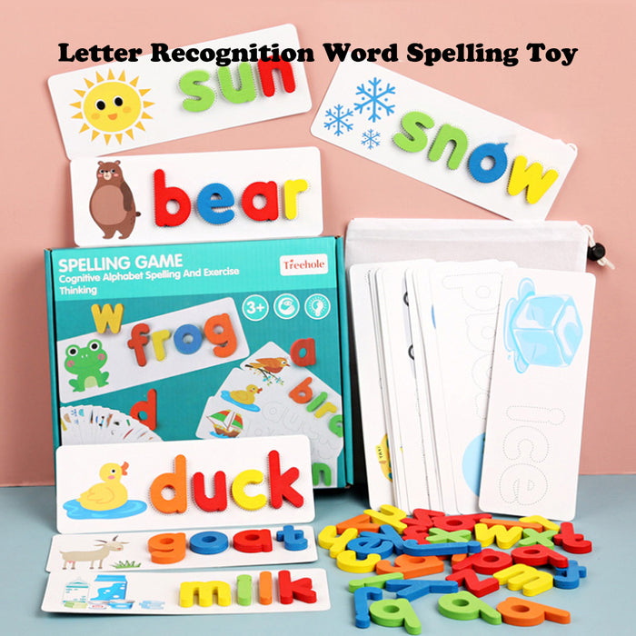 Rompsun™ Letter Recognition Word Spelling Toy