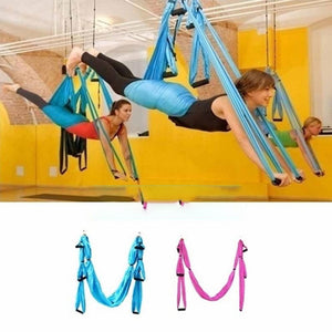 Rompsun™  Swing Inversion Therapy Anti-gravity Aerial Yoga Hammock