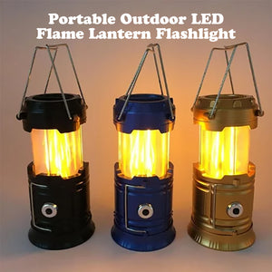 Rompsun™ 3-in-1 Camping Flame Lantern Flashlight