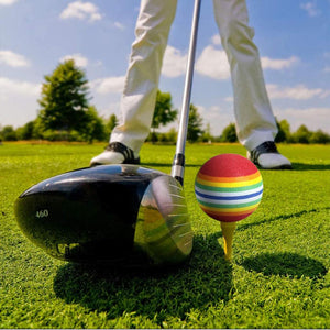 Rompsun™ Rainbow Color Practice Golf Balls for indoor and outdoor
