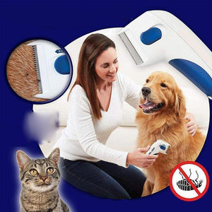 Rompsun™ Electric Flea Remover for Pets