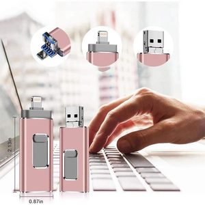 Rompsun™ Portable USB Flash Drive for iPhone, iPad & Android