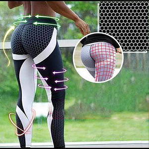 Rompsun™ Anti-Cellulite Mesh Pattern Leggings