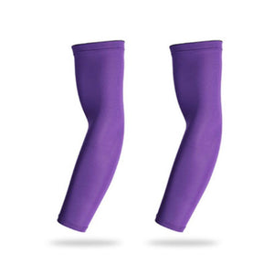 Rompsun™ Sports Arm Sleeve Ice Fabric Warmer Summer Uv Protection Running