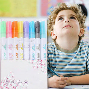 Rompsun™ Drawing Double Line Outline Pen