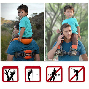 Rompsun™  Outdoor children's saddle shoulder straps, knight straps sit bench