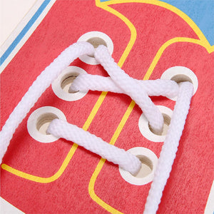 Rompsun™ Tie Shoelaces Toys Practice Learning Children Lace Educational Toys