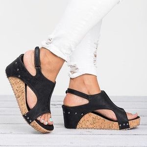 Rompsun™ Fashionable Wedge Heels Sandals