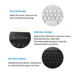 Rompsun™ Wireless Bluetooth Keyboard With Protective Cover