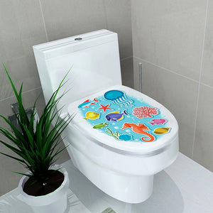 Rompsun™ Stickers for Wall Decoration of Toilet Seat