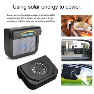Rompsun™ Vehicle Solar Powered Car Vent Window Fan