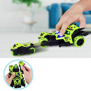 Rompsun™ 3 in 1 Race Car Toy, Motorcycle Race Vehicles Toy for Kids