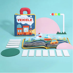 Rompsun™ Early Education 3D Cloth Book