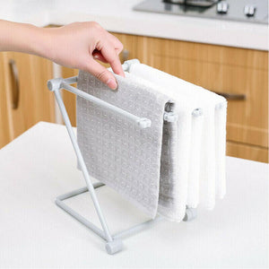 Rompsun™ Rack Hanging Kitchen Sink Folding Washing Towel Rag Drainer Holder