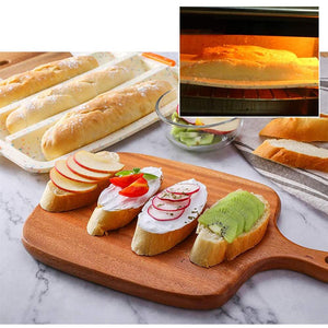 Rompsun™ Mini French Bread Baking Tray Non Stick French Bread Mould