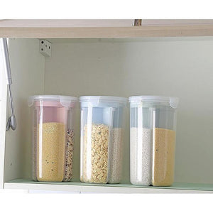 Rompsun™ Rotating Kitchen Storage Tank Dry Food Storage Containers Cereal Storage