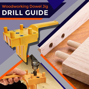 Rompsun™ Wood Doweling Hole Drill Guide