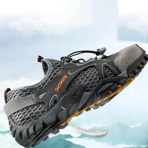 Rompsun™ Men's Breathable Mesh Casual Light Outdoor Hiking Shoes