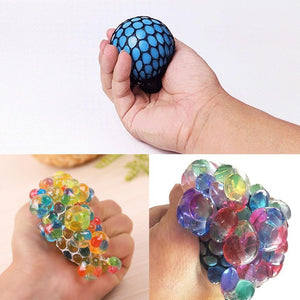 Rompsun™ Colorful hands pinch the whole trick strange toys vent grape ball