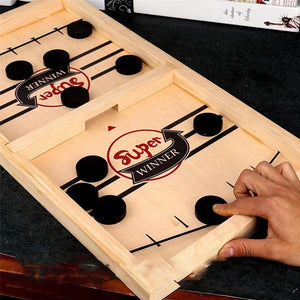 Rompsun™ Table Desktop Battle 2 in 1 Ice Hockey Game